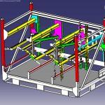 Maquette conteneur 3D