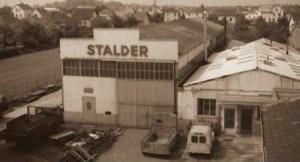 L'entrepôt Stalder dans les années 70 à Mulhouse