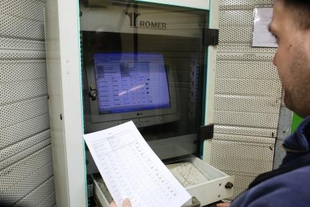 Contrôle de la maintenance industrielle