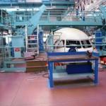 Maintenance d'avion et site aéronautique