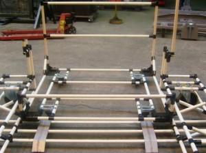 Structure en assemblage tubulaire de Stalder