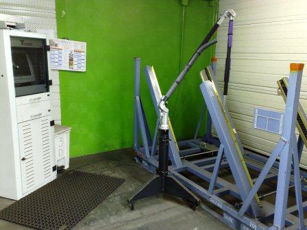 atelier maintenance-controle 3D pour l'industrie et l'aéronautique
