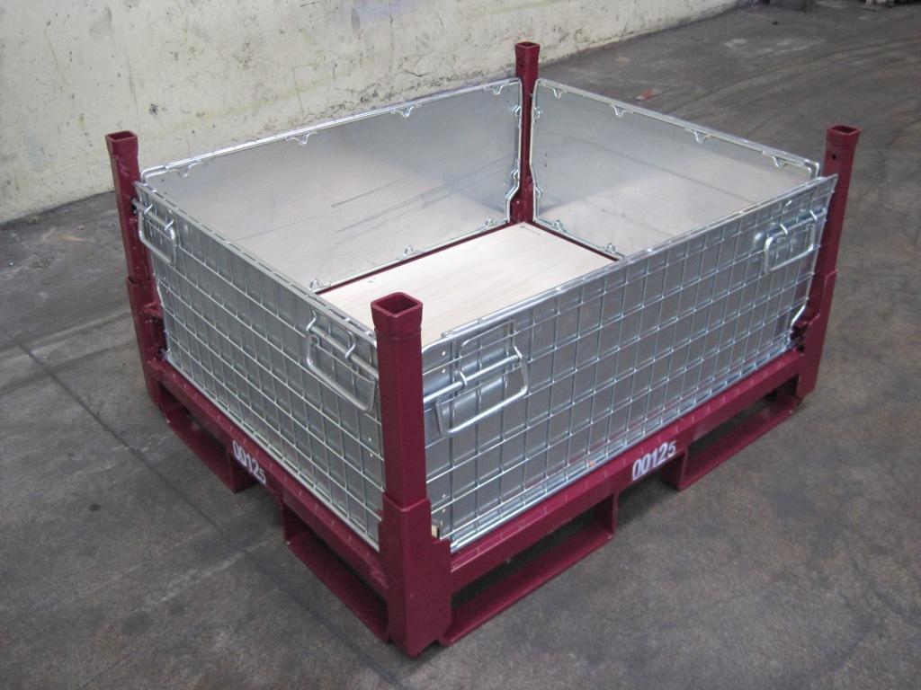 conteneur repliable 125