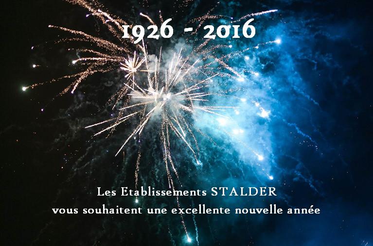 1926 - 2016 : STALDER