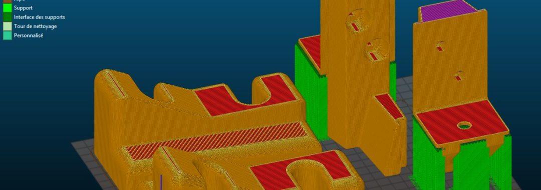 Logiciel de traitement de l'impression 3D
