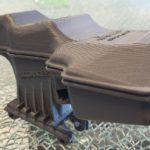 prototype réservoir liquide de frein pour validation dimensionnelle