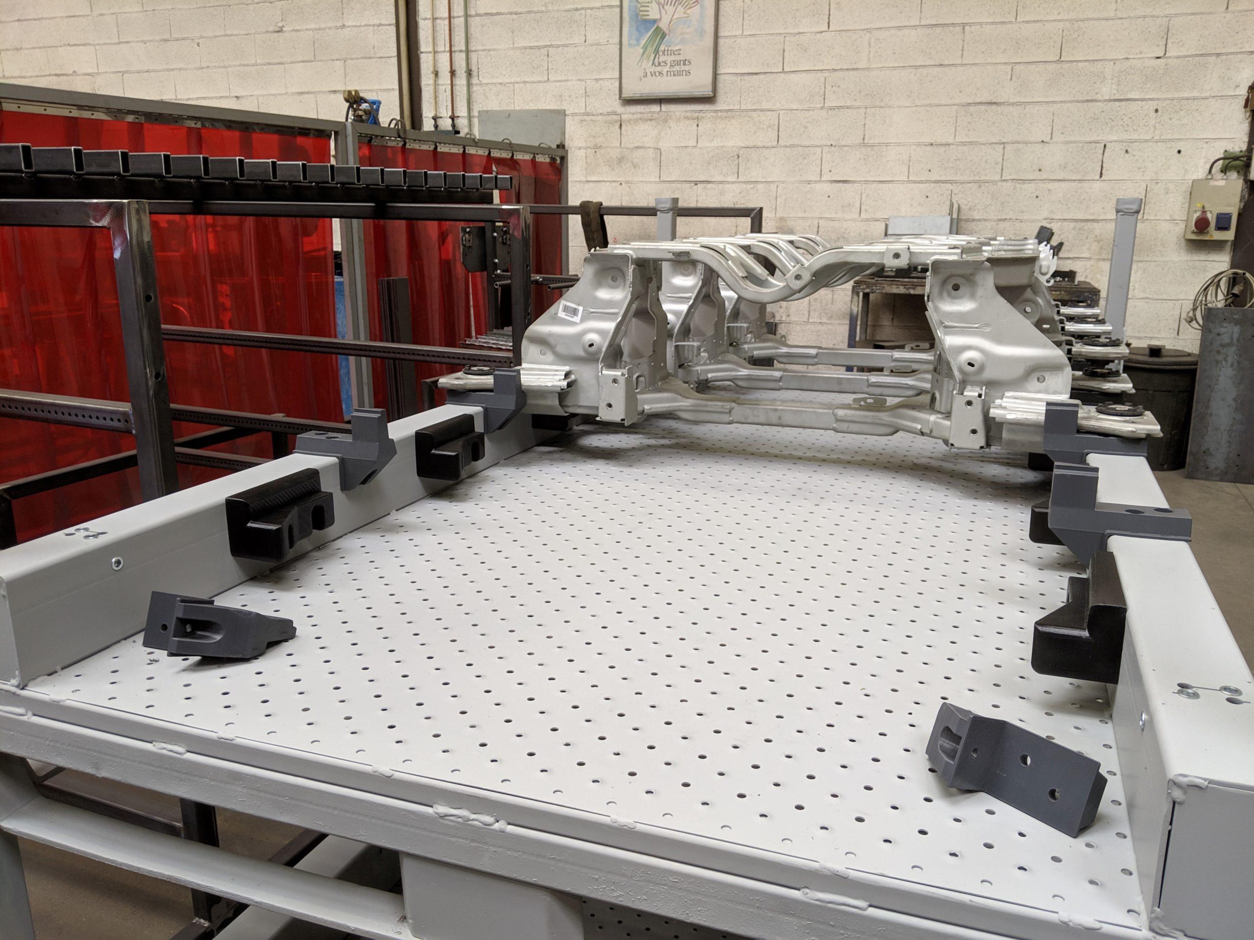 support imprimés 3D MEP TAR