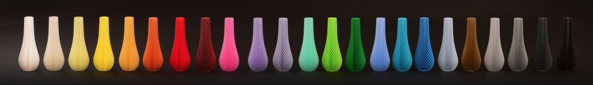 Impression 3D industrielle de toutes les couleurs