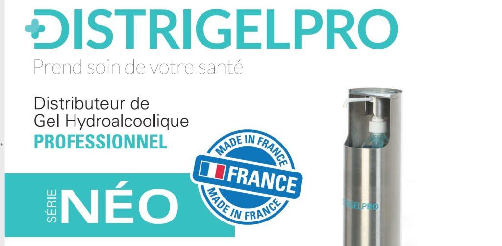 distributeur de gel hydroalcoolique professionnel